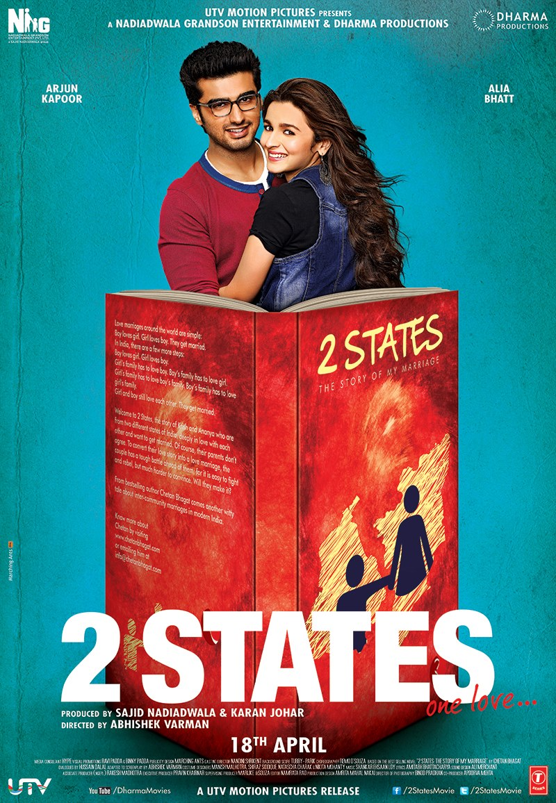 2 States 2014 Complete Bluray 1080p AVC DTS-HDMA 5.1-DDR | 46 GB | Zip |