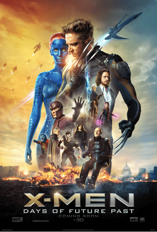 X-Men – Days of Future Past (2014) (In Hindi)