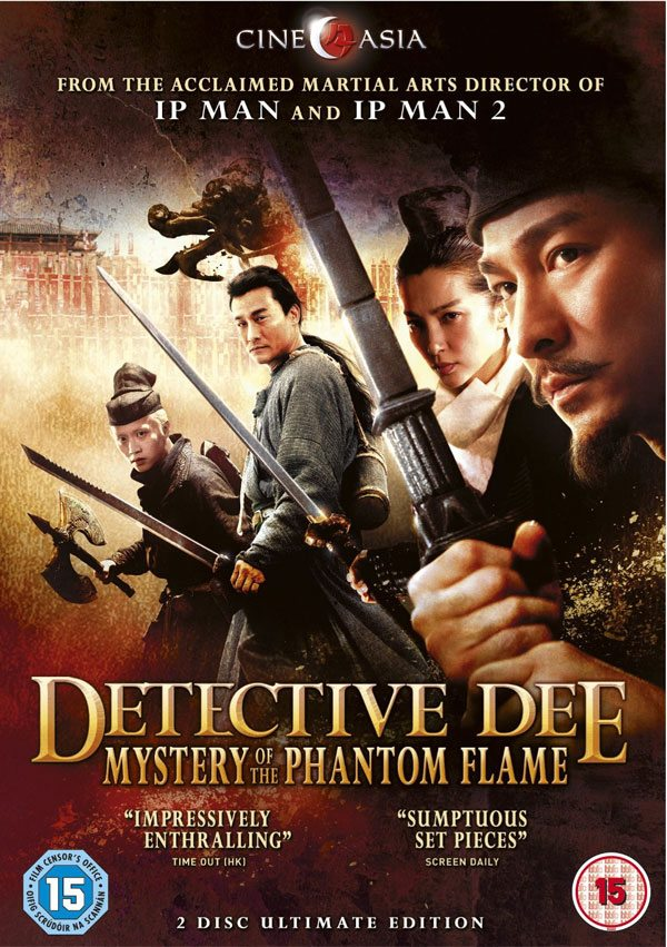 Detective Dee - Mystery of the Phantom Flame (2010) (In Hindi)