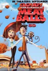 Cloudy with a Chance of Meatballs (2009) (In Hindi)
