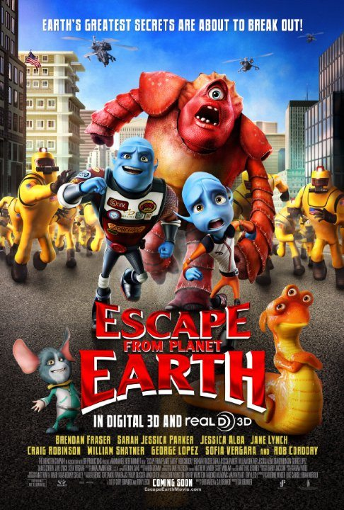 Escape from Planet Earth (2013) (In Hindi)