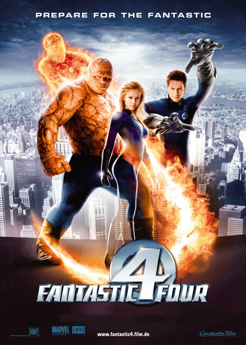 Fantastic 4 – Rise of the Silver Surfer (2007) (In Hindi)