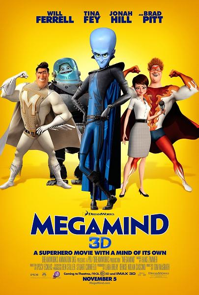 Megamind (2010) (In Hindi)