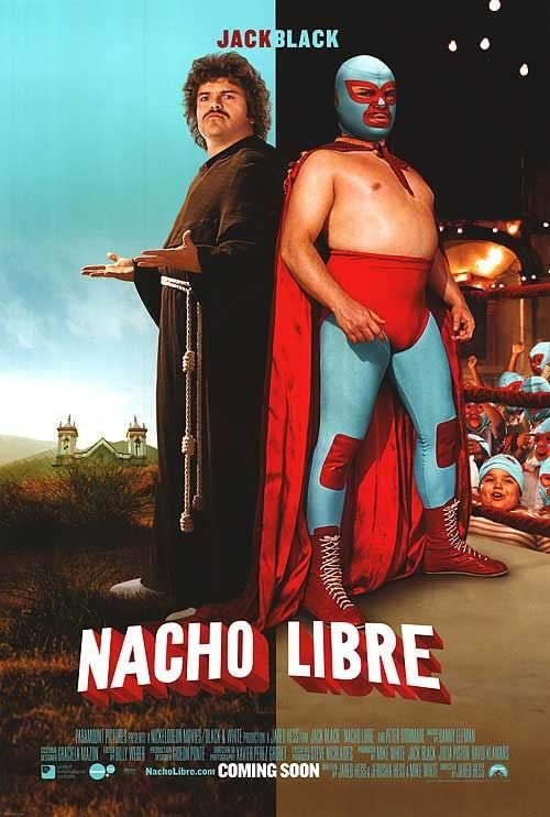 Nacho Libre (2006) (In Hindi)