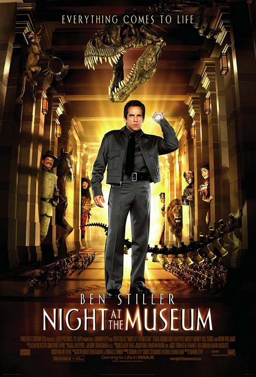 Night at the Museum (2006) (In Hindi)