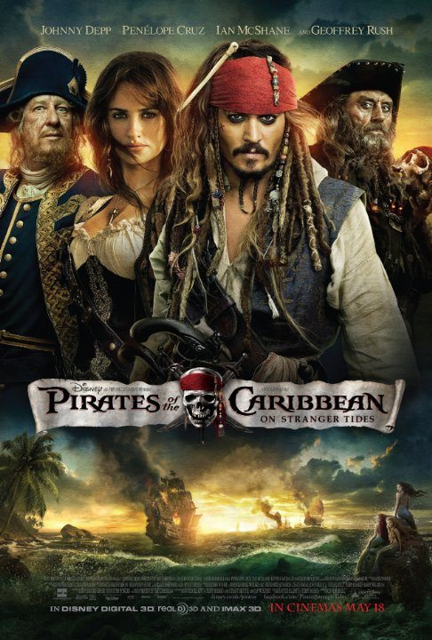 Pirates of the Caribbean – On Stranger Tides (2011) (In Hindi)