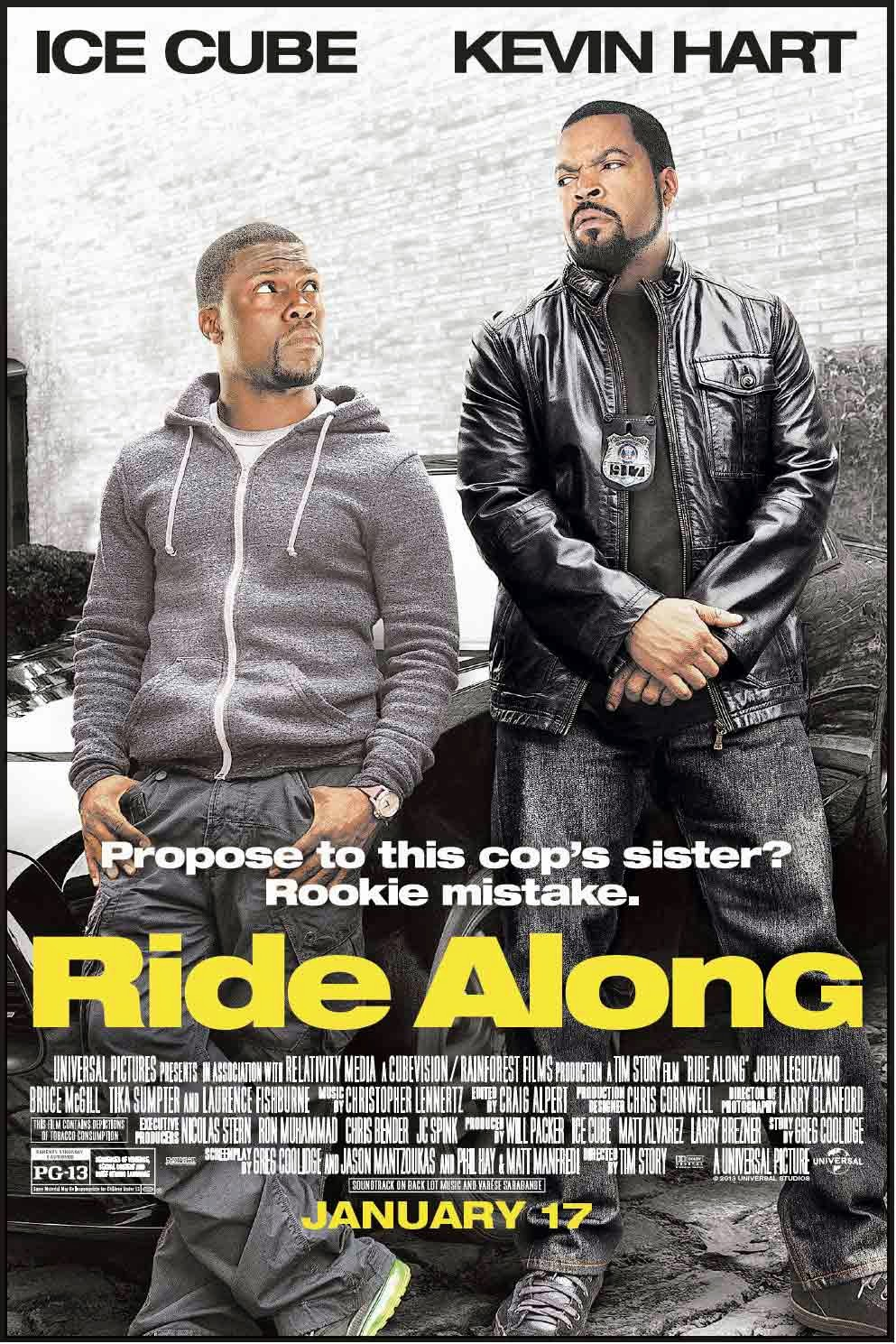 Ride Along (2014) (In Hindi)
