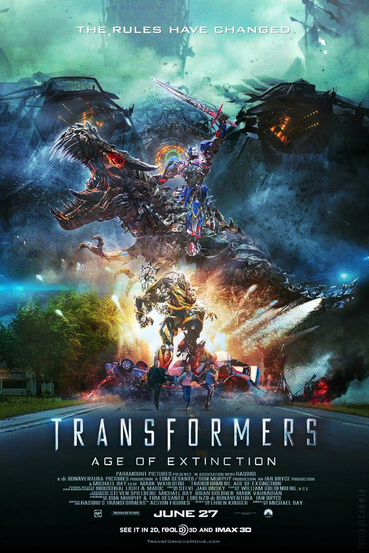 Transformers – Age of Extinction (2014) (In Hindi)