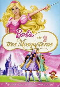 Barbie and the Three Musketeers (2009) (In Hindi)