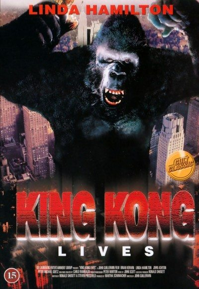 the movie king kong lives 1986