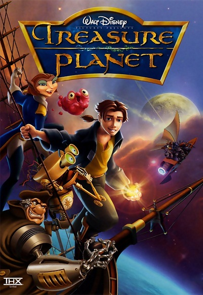 Treasure Planet (2002) (In Hindi) Full Movie Watch Online ... Joseph Gordon Levitt