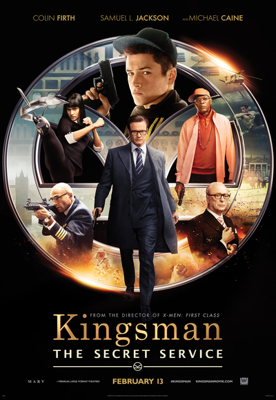 Kingsman - The Secret Service (2014) (In Hindi) Full Movie Watch ...