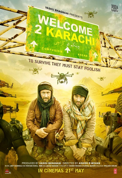 Welcome 2 Karachi (2015) Full Movie Watch Online Free - Hindilinks4u.to