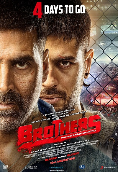 New Hindi Movei 2018 2019 Bolliwood: Brothers (2015) Full Movie Watch Online Free