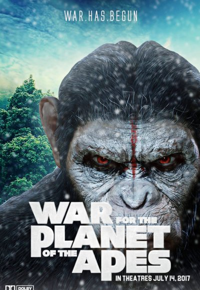 War for the Planet of the Apes 2017 WEB-DL 480p 720p Hindi ...