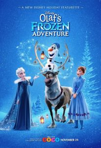 Olaf's Frozen Adventure (2017) (In Hindi)