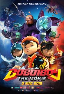 BoBoiBoy – The Movie (2016) (In Hindi)